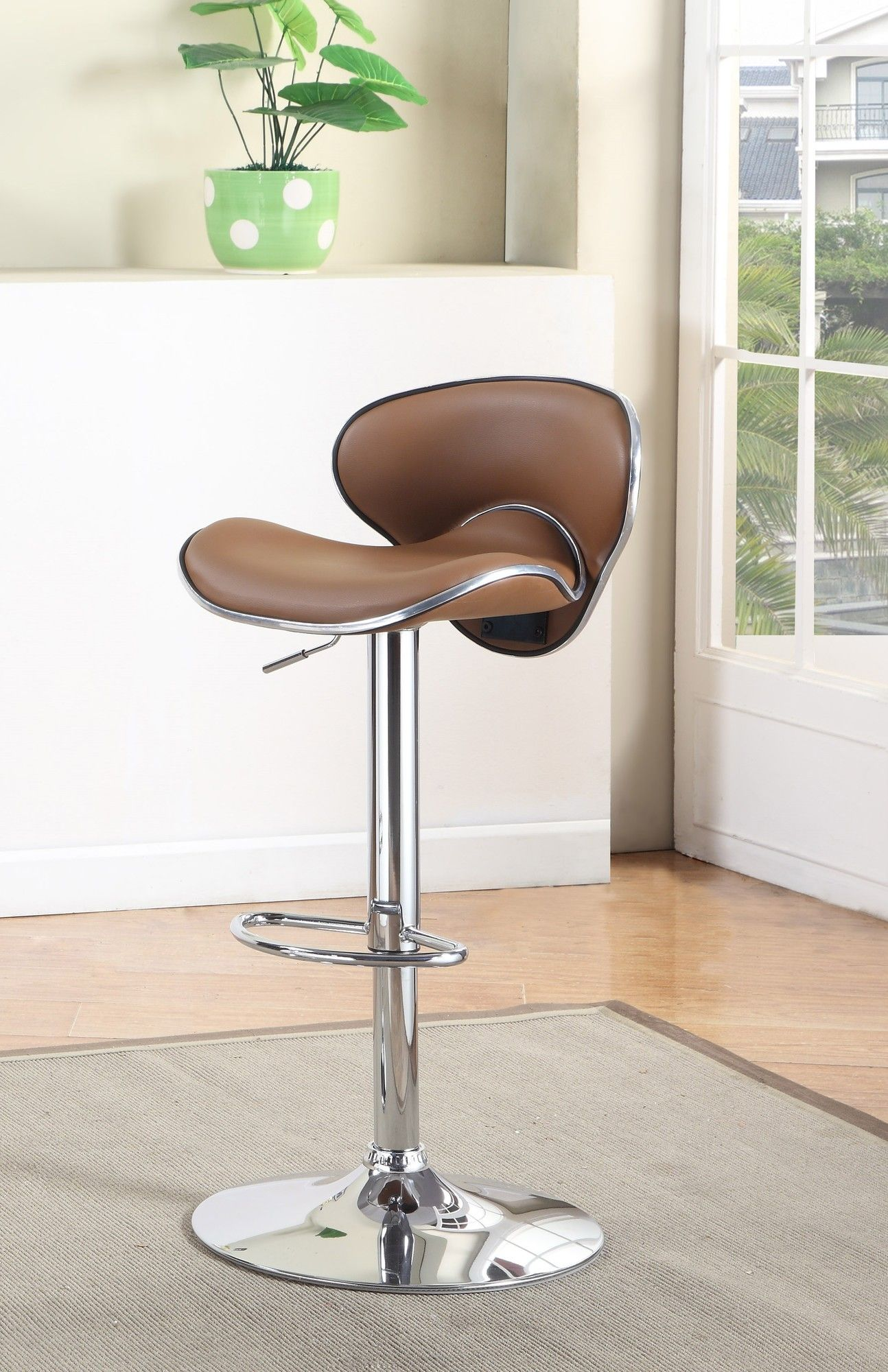 Reynard Adjustable Height Swivel Bar Stool Products Pinterest