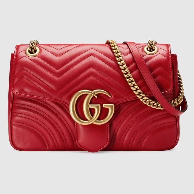 1b31fc98b0c1 GG Marmont matelassé shoulder bag - Sale! Up to 75% OFF! Shop at Stylizio  for women's and men's designer handbags, luxury sunglasses, watches,  jewelry, ...