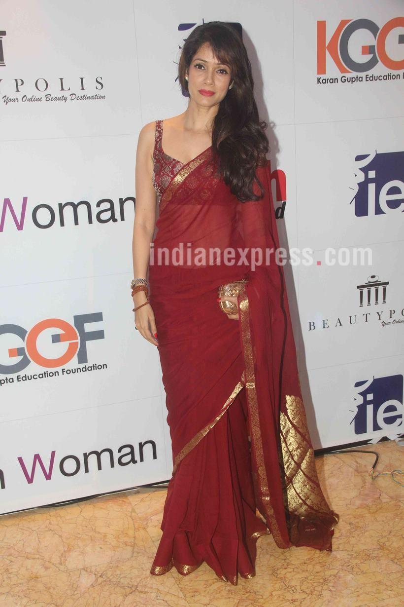 60abb878c90342 Vidya Malvade at 'I Am Woman' seminar. #Bollywood #Fashion #Style #Beauty # Hot #Sexy #Saree