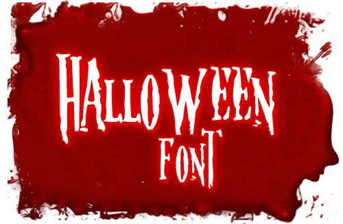 Halloween fonts ~ET. See our 9 Halloween Fonts at http://www ...
