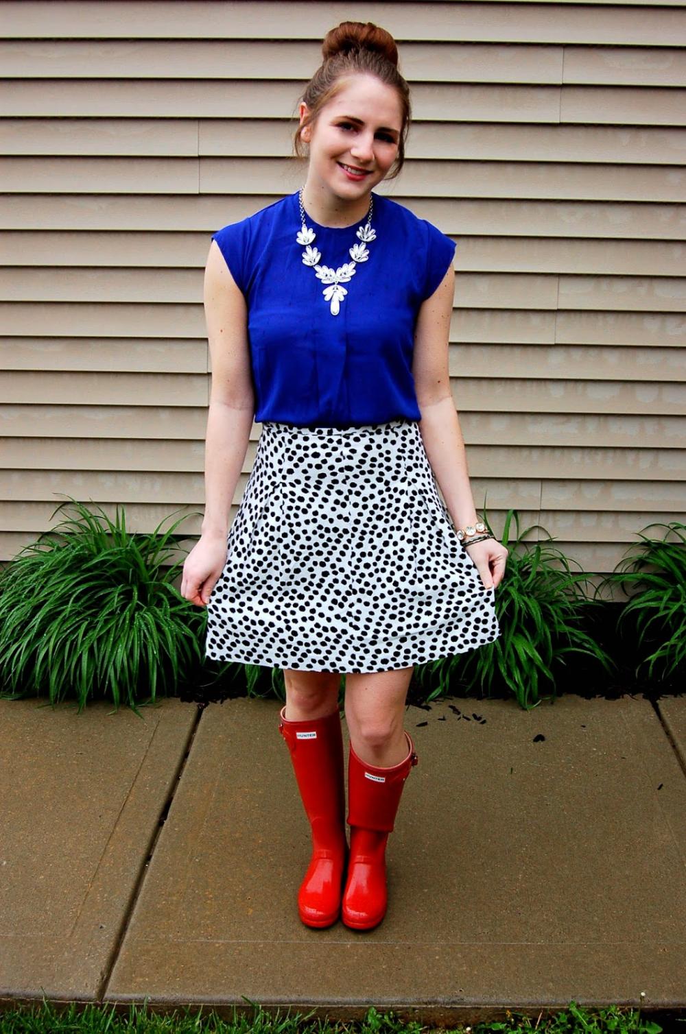 A Memory Of Us: white peplum top   A Kansas City Fashion Blog