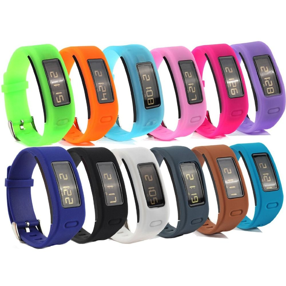 Jm1gjss New Arrival Candy Colors Replacement Rubber Band With Clasps For Garmin Vivofit Bracelet Wristband No Tracker Price 9 95