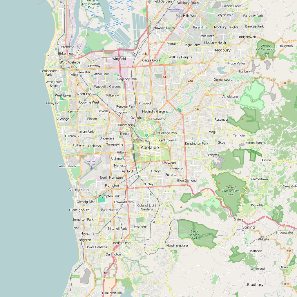Editable city map of adelaide city maps and products editable city map of adelaide gumiabroncs Image collections