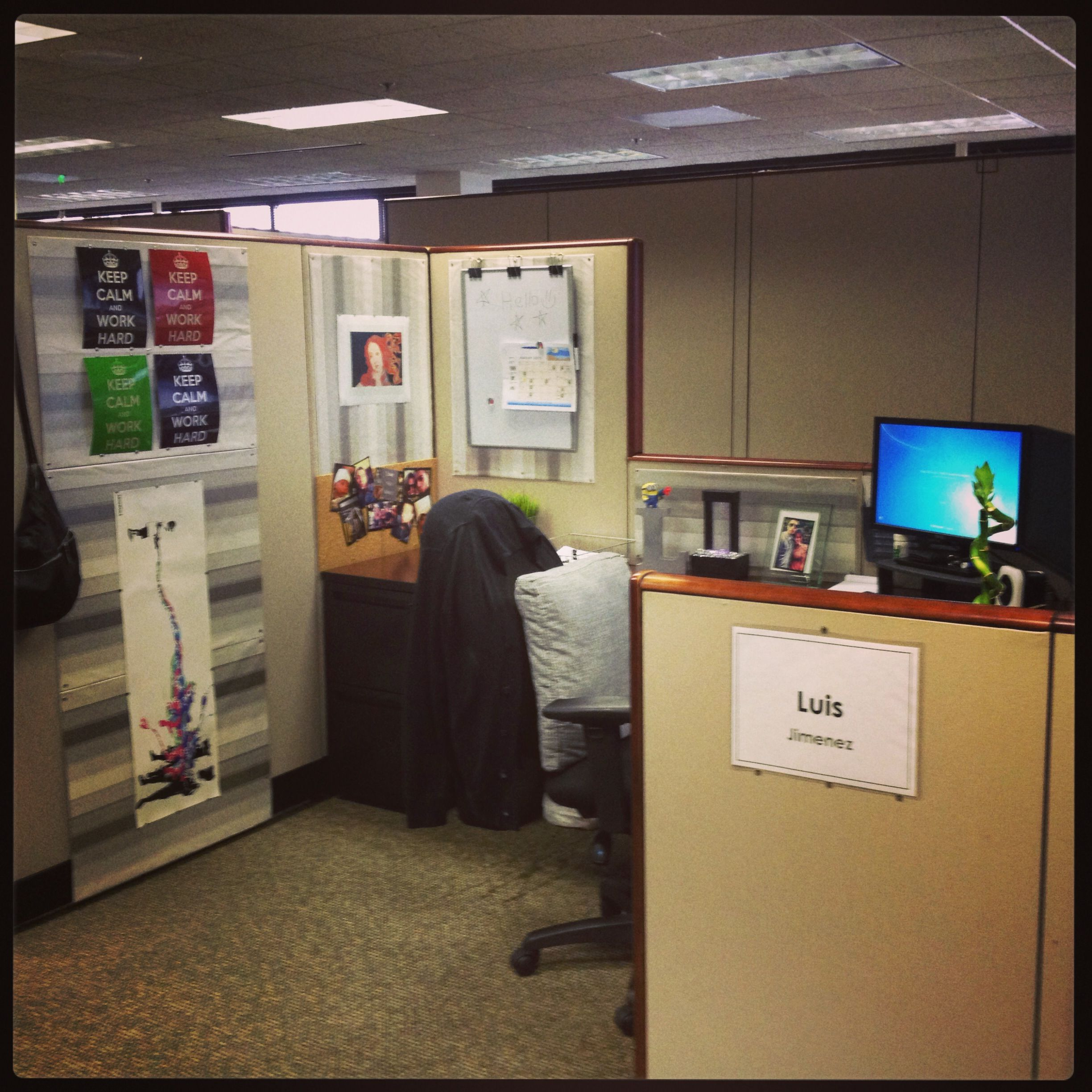 office cubicle organization. #cubicle #organization office cubicle organization pinterest