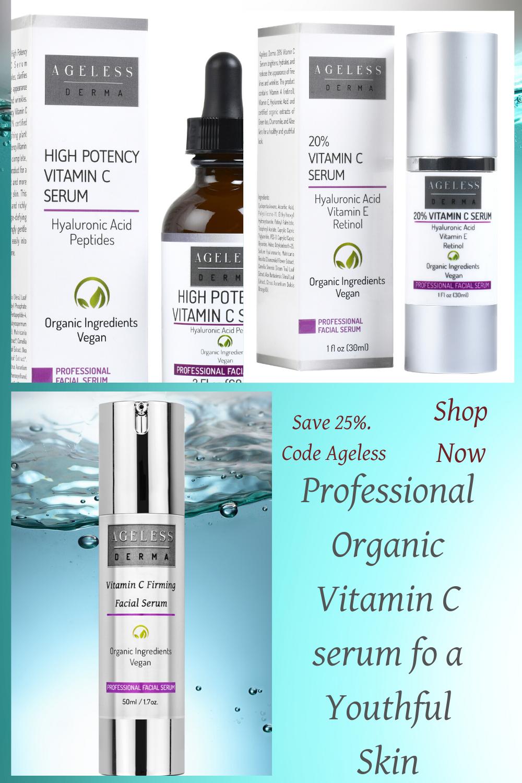 Professional Vitamin C Serum For A Glowing Skin In 2020 Professional Skin Care Products Anti Aging Cream Reviews Diy Anti Aging Cream