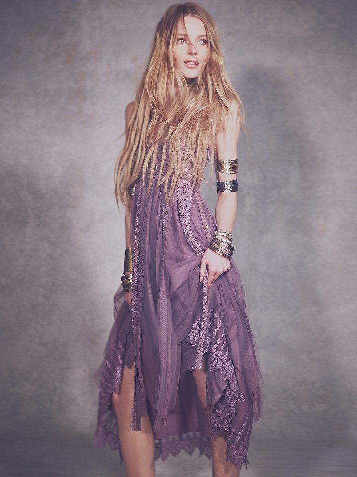 Free People Studded Lace Party Dress at Free People Clothing ...