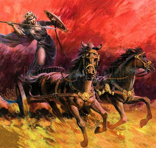 My 69th great grandmother: Celtic Warrior Queen Boudicca and her ...