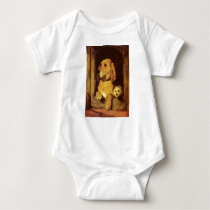 Dignity and impudence edwin henry landseer baby bodysuit dignity and impudence edwin henry landseer baby bodysuit personalize gift idea special custom diy or negle Choice Image