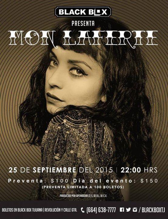 HOY se presenta por primera ve en Tijuana Mon laferte. Trae una muy buena propuesta. Van a ir?  Info: http://tjev.mx/1YwcopJ