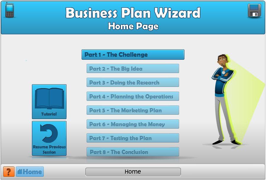 Create A Free Business Plan Business Plan Wizard Business Stuff