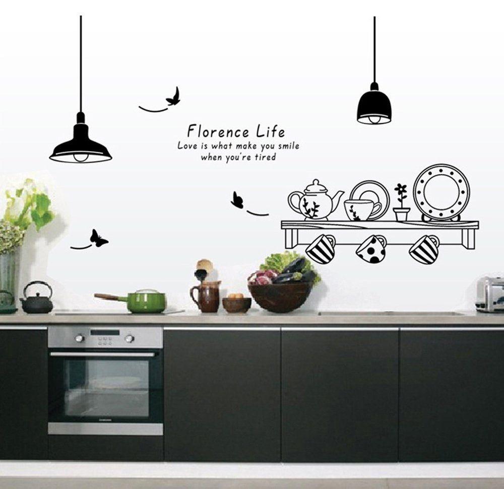 Gli adesivi murali per la cucina | Idee per la cucina | Home ...