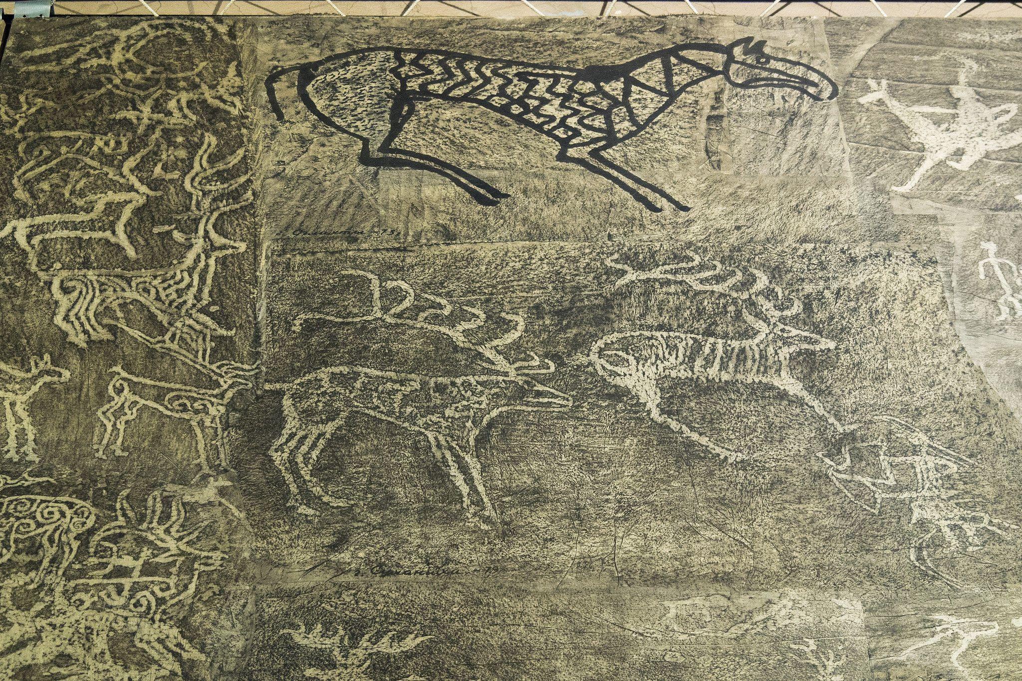 Altay Daglari Sitesi Kalbak Tash Ile Ilgili Gorsel Sonucu Petroglyphs Ancient Animals Ancient Art