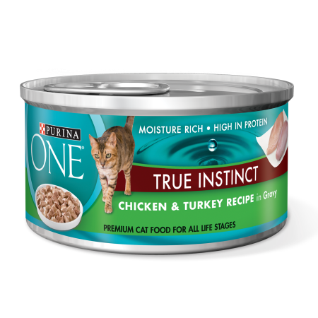 Purina One True Instinct Chicken Turkey Recipe In Gravy Wet Cat