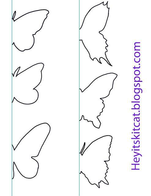 Heyitskitcat: DIY Butterfly Wall Decor: | DIY & Crafts | Pinterest ...