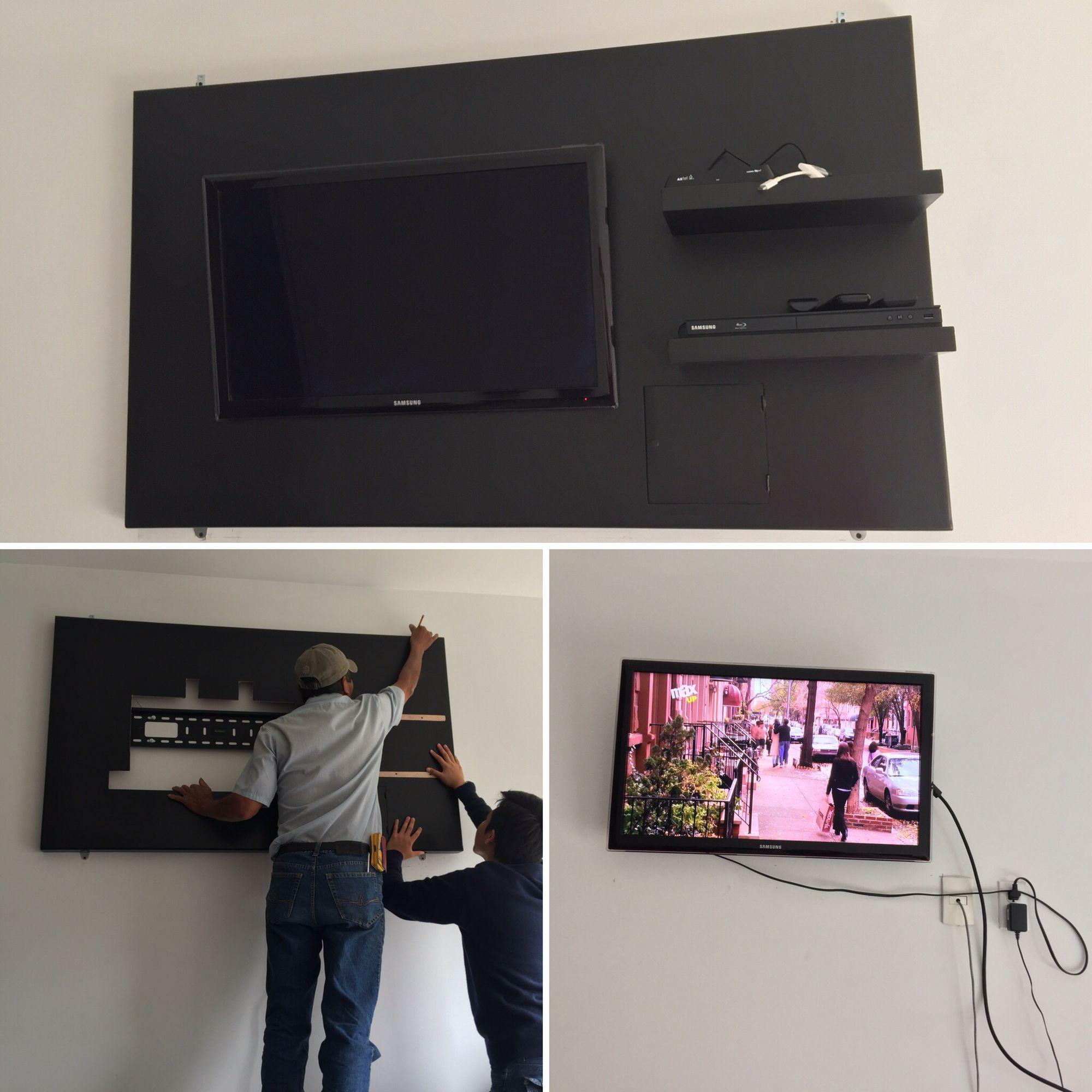 Repisas Para Tv Mueble Para Tv En Zona De Estar Repisa Para Tv  # Muebles Para Poner Xbox
