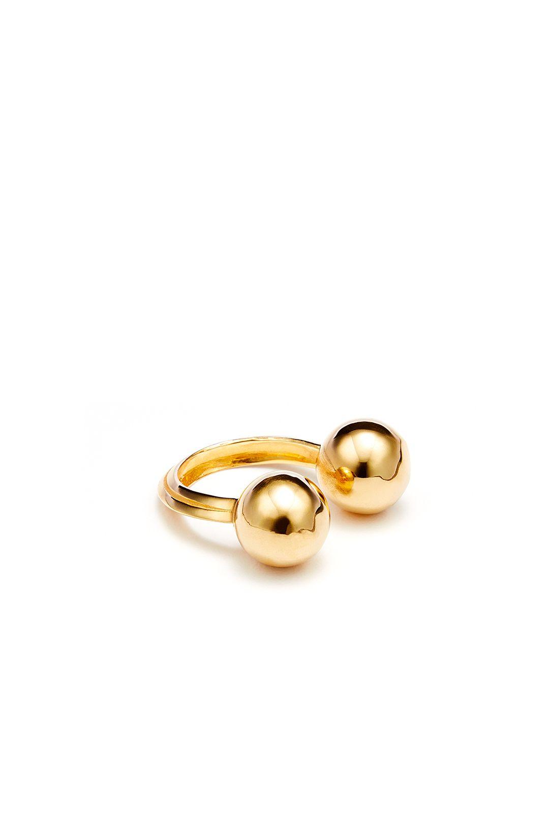 Maya Ball Ring by STANMORE