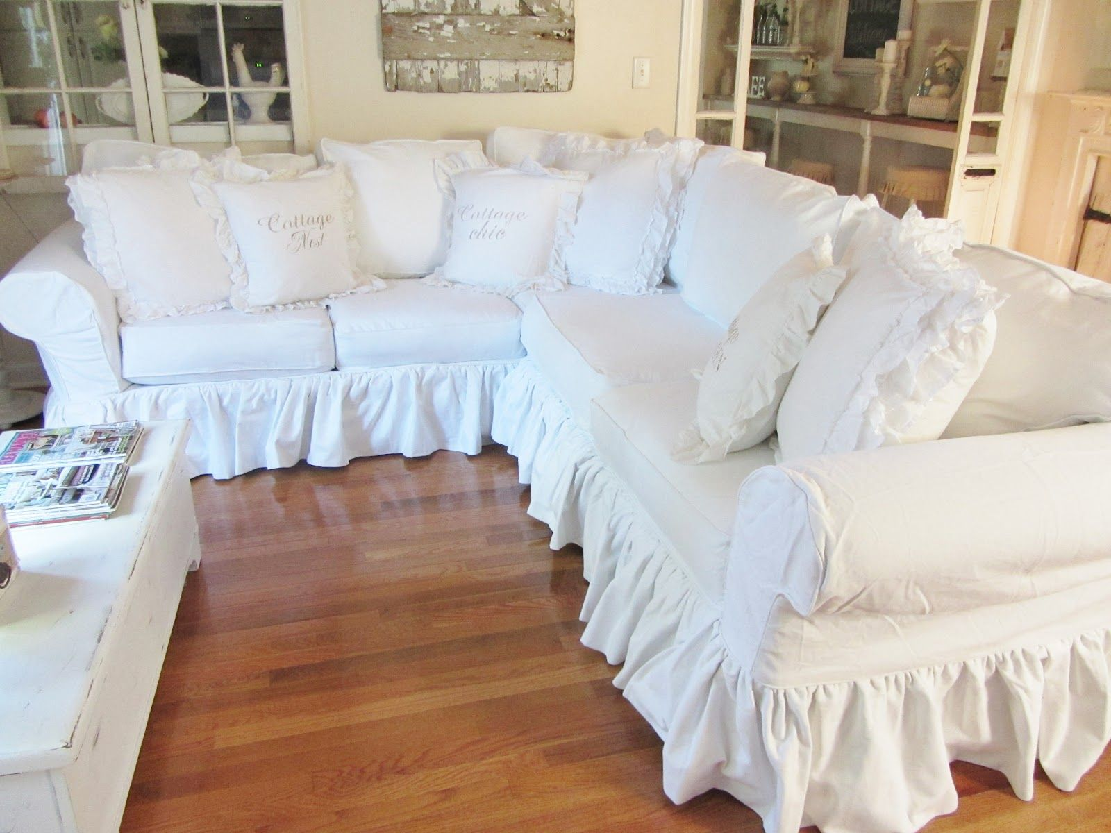 luxury sofa slipcovers for cushions decoration sofas perfect with separate room slipcover completion enchanting decor living white