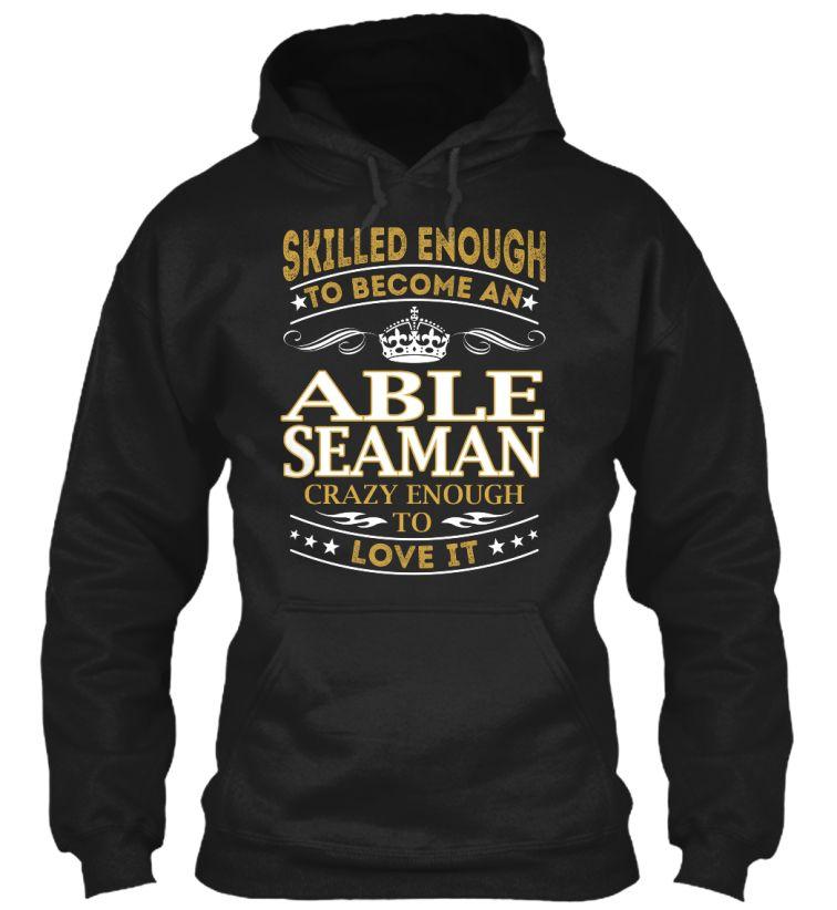 Able Seaman - Skilled Enough #AbleSeaman