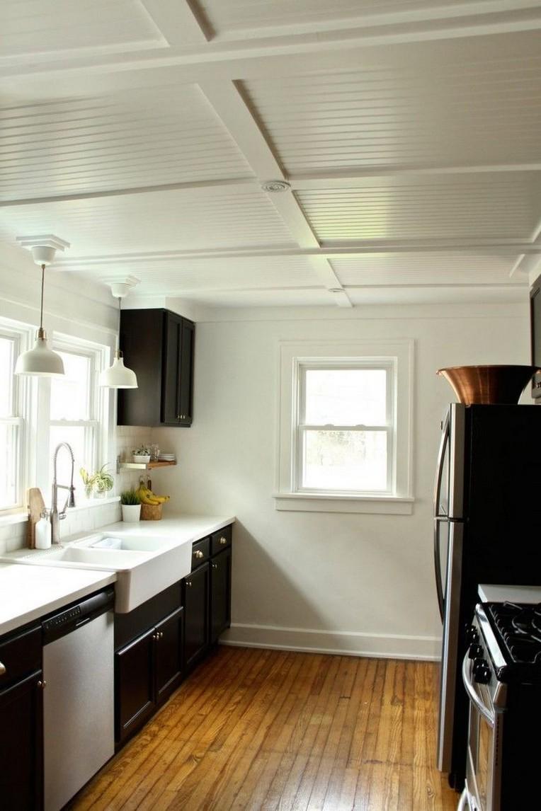30+ Extraordinary Kitchen Ceiling Design Ideas #kitchen # ...