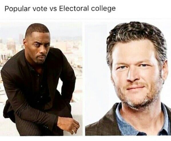 Electoral College Funny Meme : Memes capture difference between election day daily