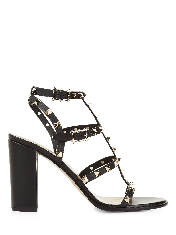 Shopping · VALENTINO Valentino Garavani Block-Heel Rockstud Sandals. # valentino #shoes #