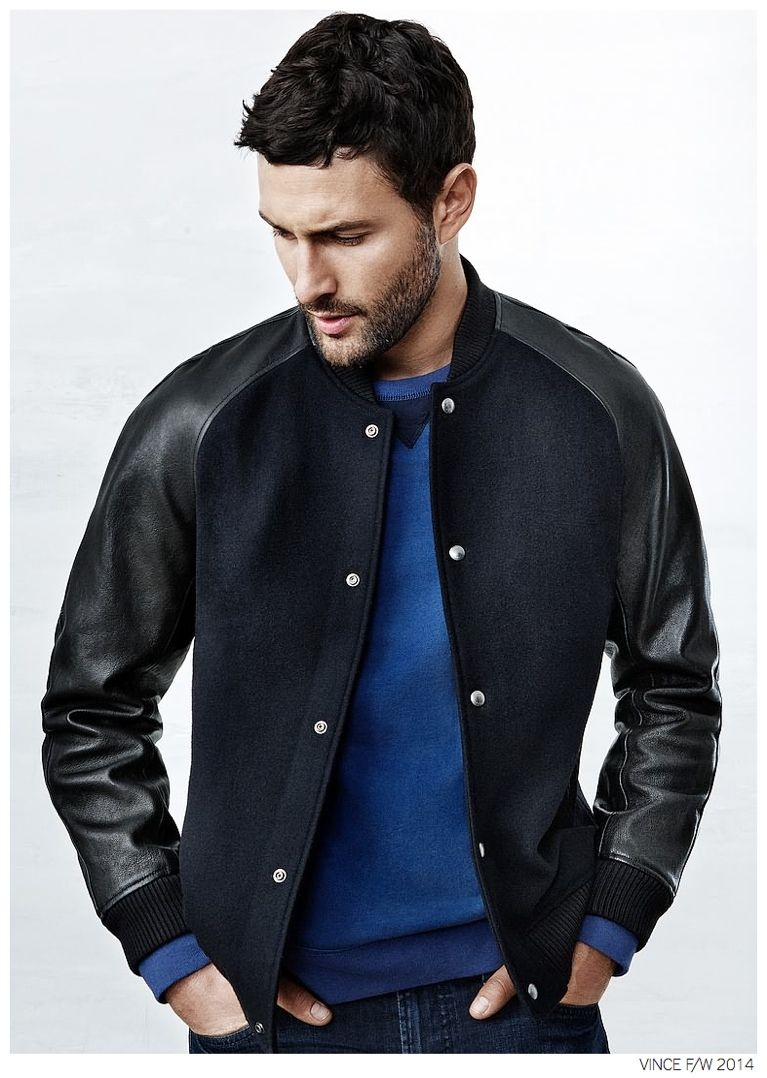 Noah Mills Sports Casual Styles from Vince Fall/Winter 2014 Collection image Noah Mills Casual Styles Vince Fall Winter 2014 006
