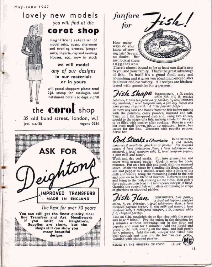 Free Vintage Knitting Magazine- Stitchcraft May-June 1947