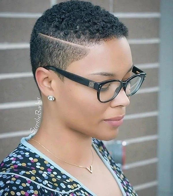 20 Quick And Simple Short Natural Hairstyles For Hard Working Nige Short Hair Styles African American Short Natural Hair Styles African American Short Haircuts