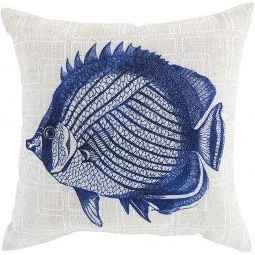 What Does The Fish Say Bloop Bloop Bloop Fish Throw Pillow Clip Art Vintage Fish Illustration