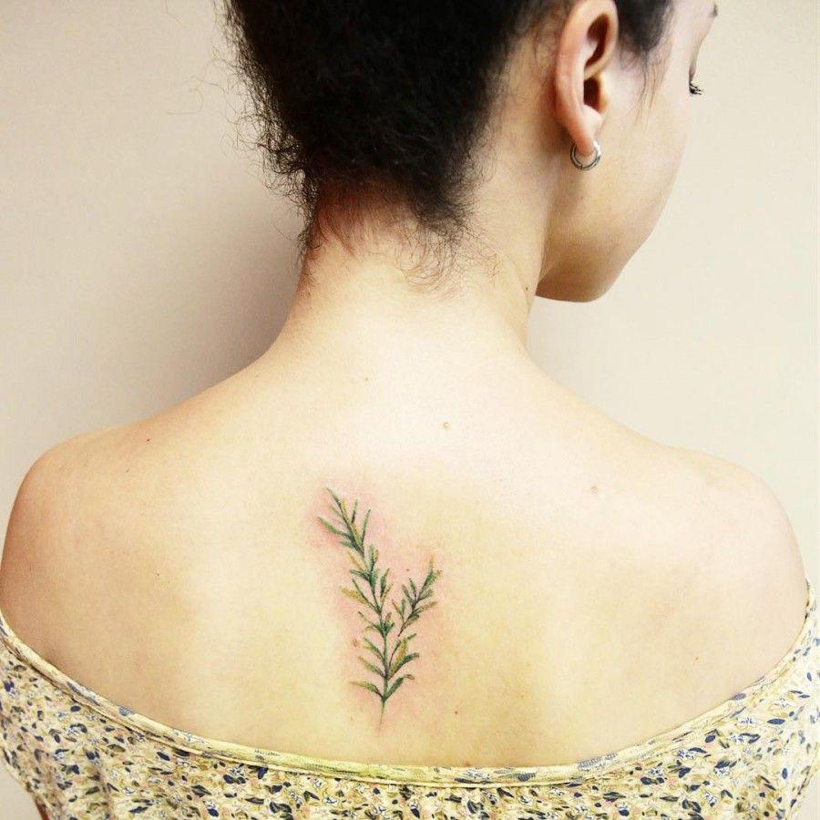 Rosemary tattoo