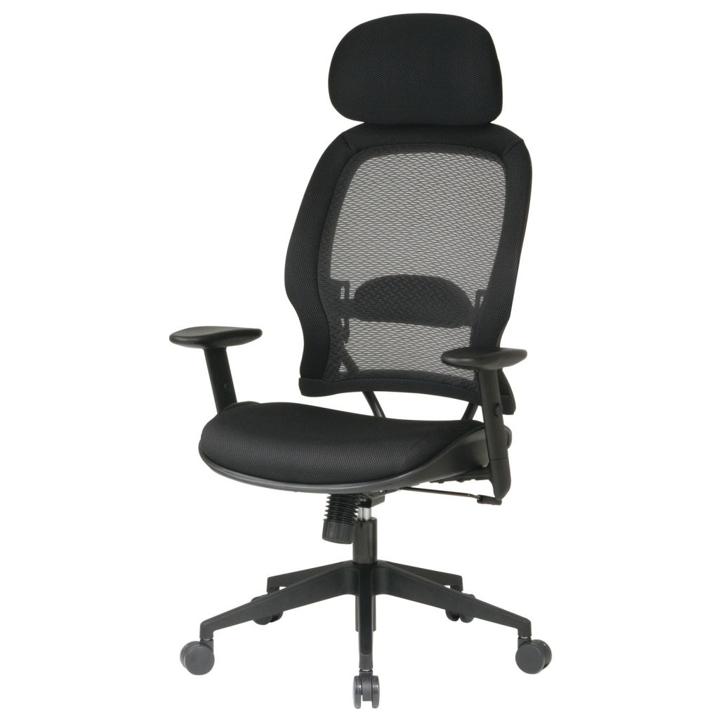 Mesh Office Chair Office Star Space Air Grid Deluxe With High