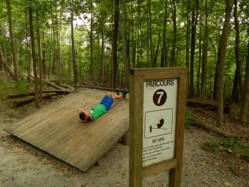 Parcours Trail Cincinnati Ohio Easy Workouts Fitness Trail Outdoor Fitness Equipment