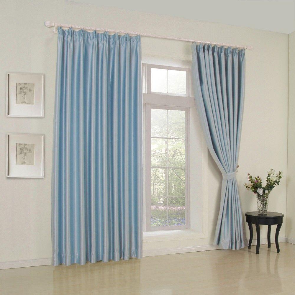 Modern Solid Light Blue Curtain Curtains Homedecor Decor Homeinterior Interior Design Custommade Light Blue Curtains Beige Room Blue Curtains