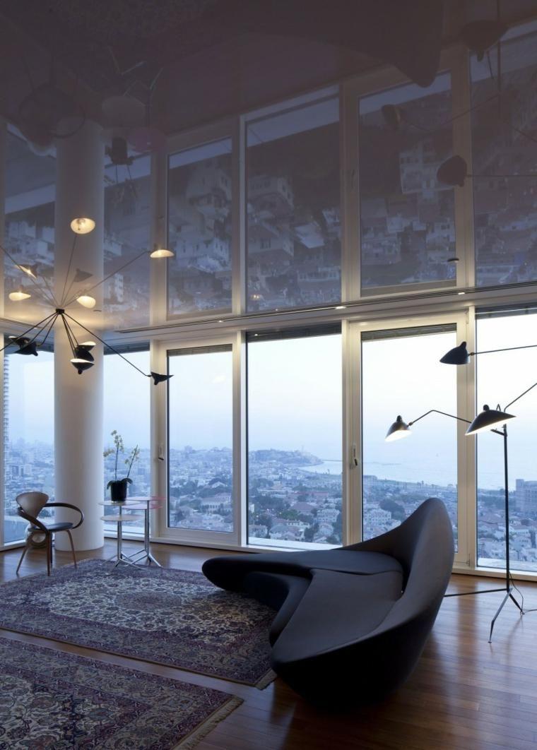Das Apartment wurde von Partizki & Liani Architects entworfen ...
