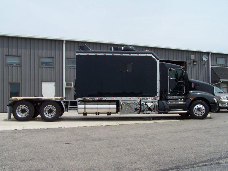 Super Sleeper Trucks, Super Sleeper Trucks Interior, Super