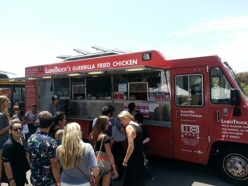 Ludos Truck Gorilla Fried Chicken Food Trucks Food Truck Fries