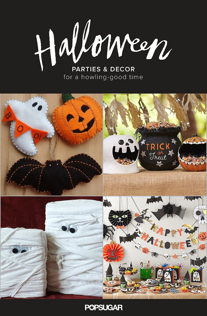 More Smiles Than Scares 17 Cute Halloween Decorations For Kids - Homemade Halloween Decorations
