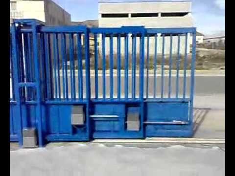 Cable Telescopic Frame Youtube Puertas Correderas