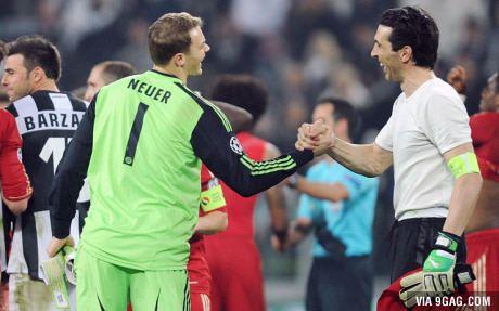 Best 2 goalkeepers of Europe