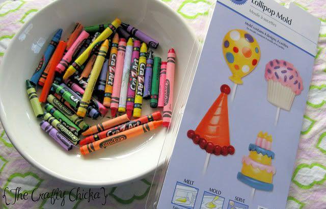 crayon making