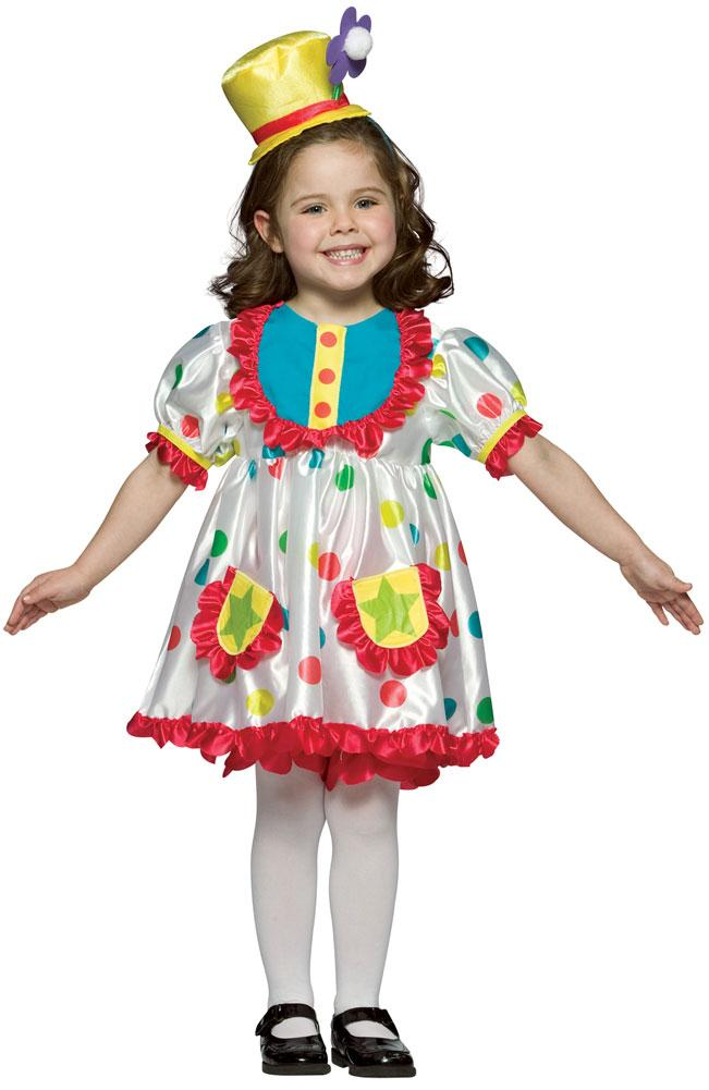 Halloween Clown Girl Outfit.Clown Girl Kids Costume Small 4 6 Circus Costumes Girl