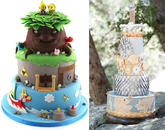 43 tartas de boda muy frikis