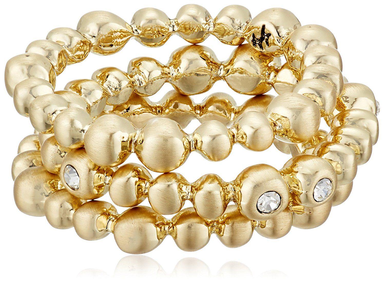 Karen Kane Summer Solstice Gold Tone Stackable Ring, Size 7 >>> Click image for more details.