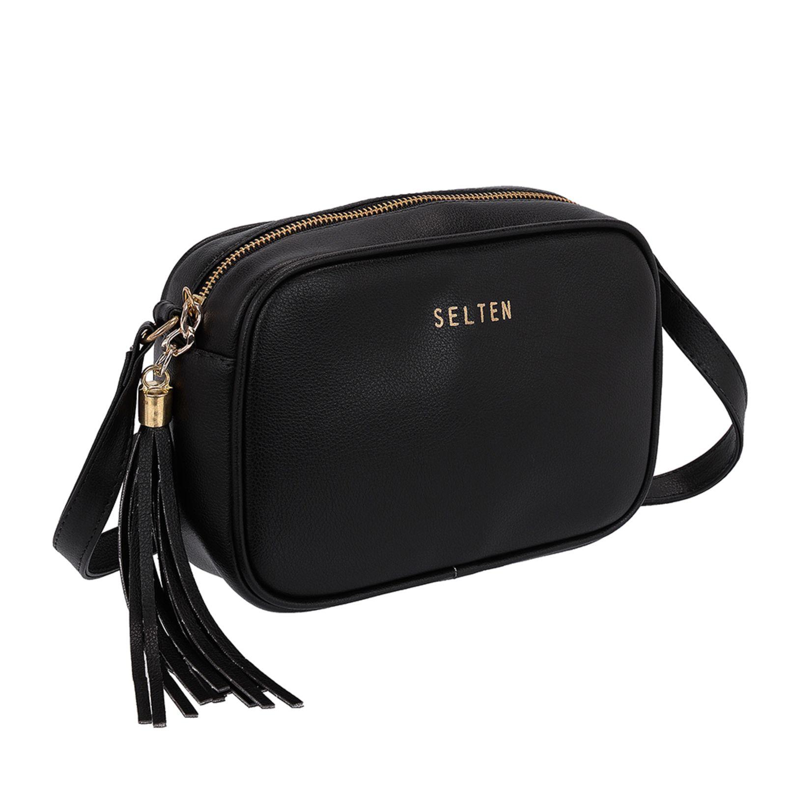 Selten Side Bag Pequeño Negro