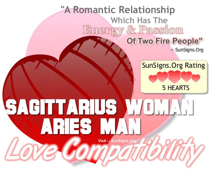 Love match for sagittarius woman