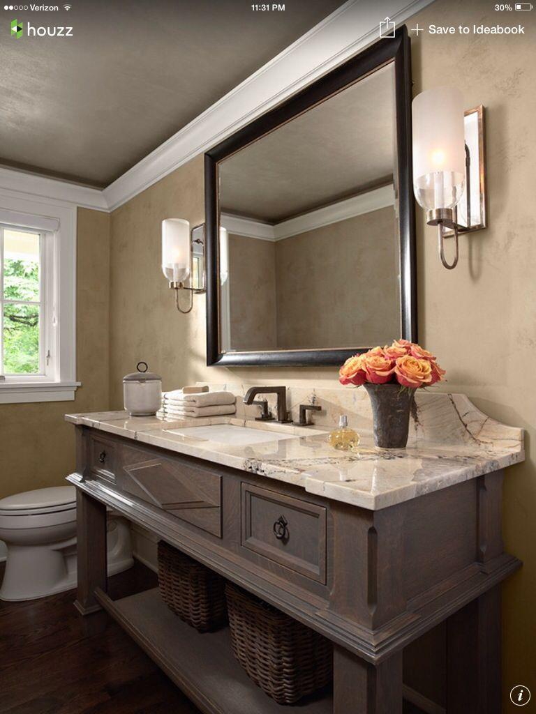 Houzz Bathroom Powder Room Design