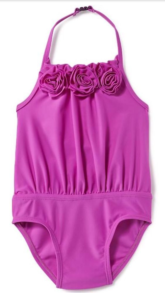 Baby Girl Size 3T Old Navy One Piece Swimsuit NWT