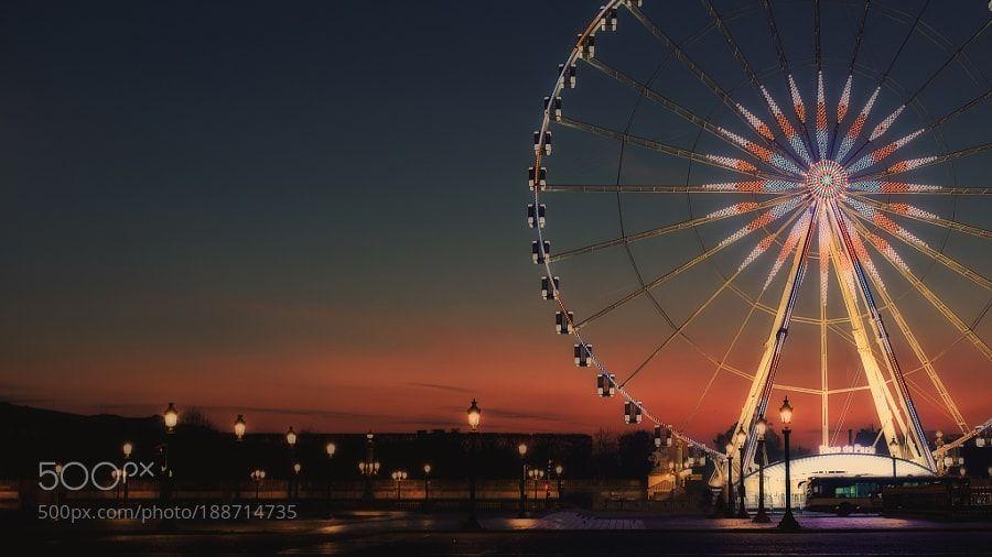 Paris wheel by johnamm