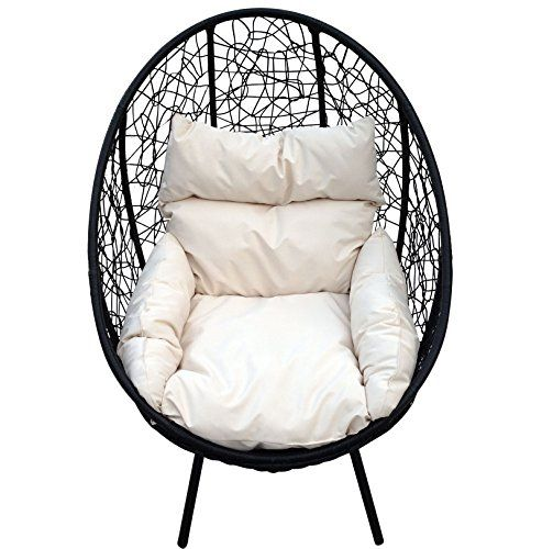 Charles Bentley Garden Pod Chair Shell Ball Globe Armchair For ...