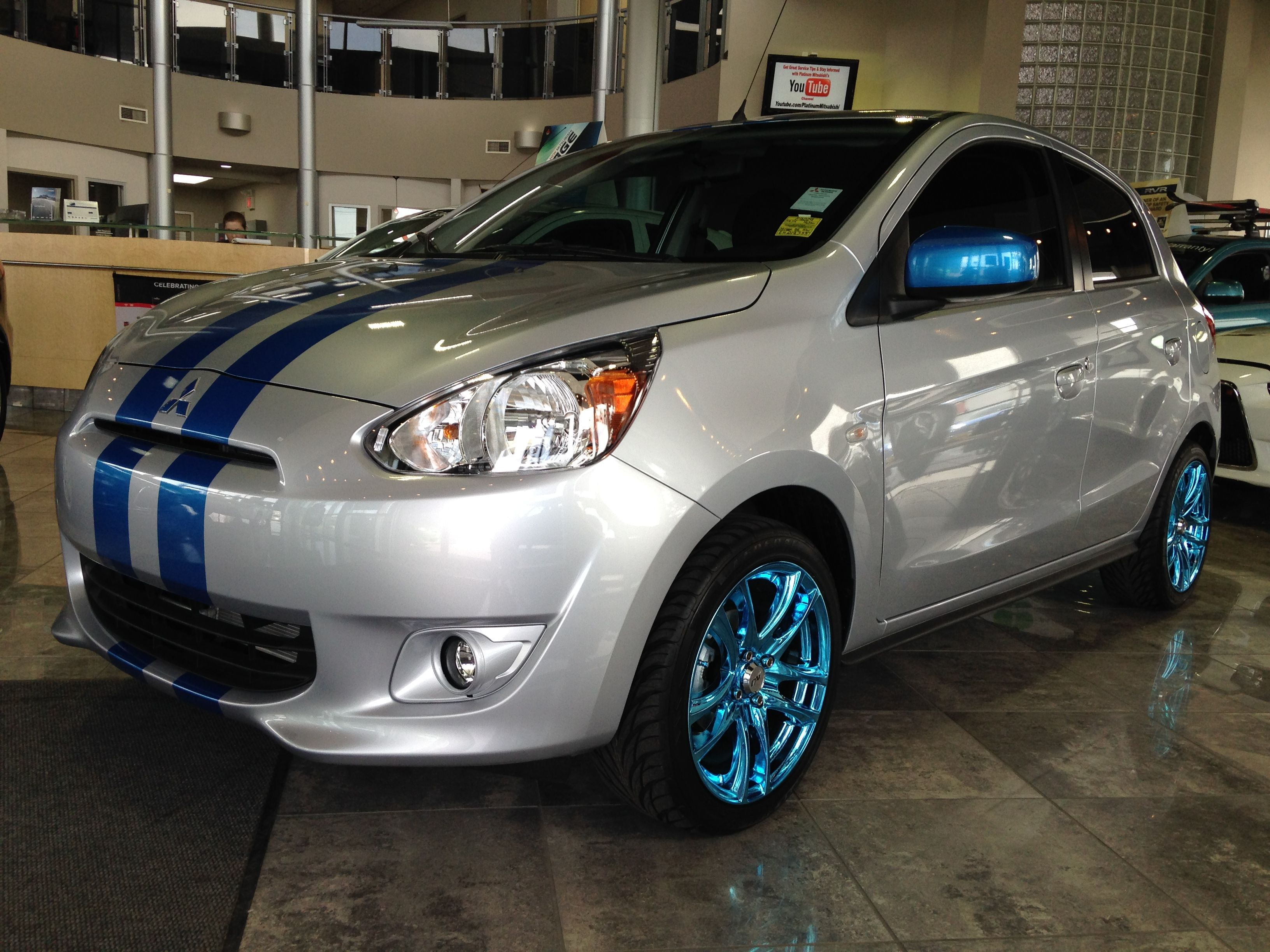Mitsubishi mirage custom